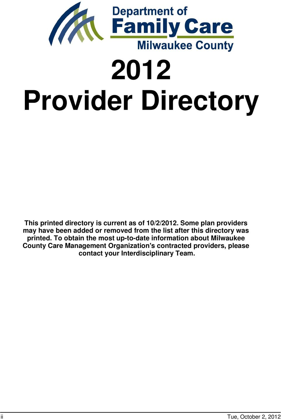 directory was printed.