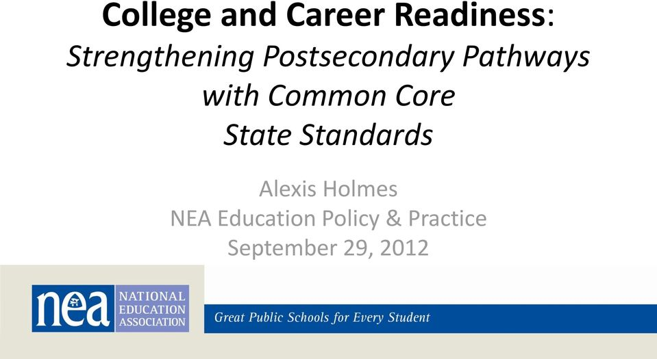 with Common Core State Standards Alexis