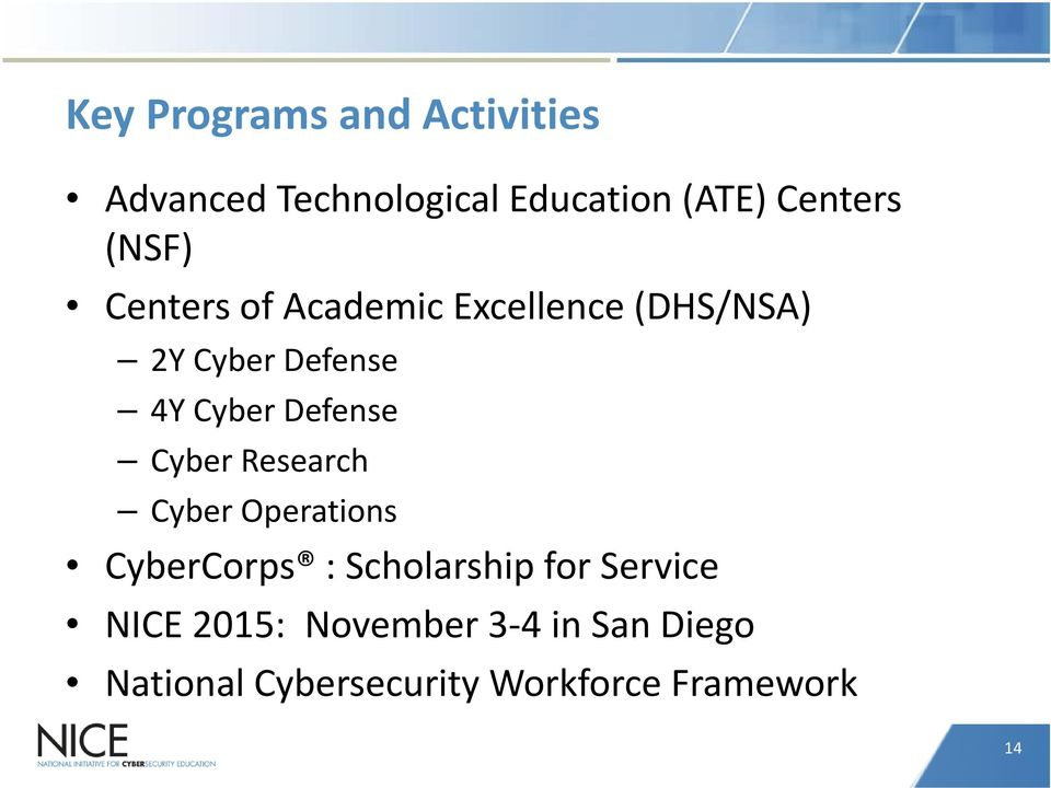 Defense Cyber Research Cyber Operations CyberCorps : Scholarship for Service