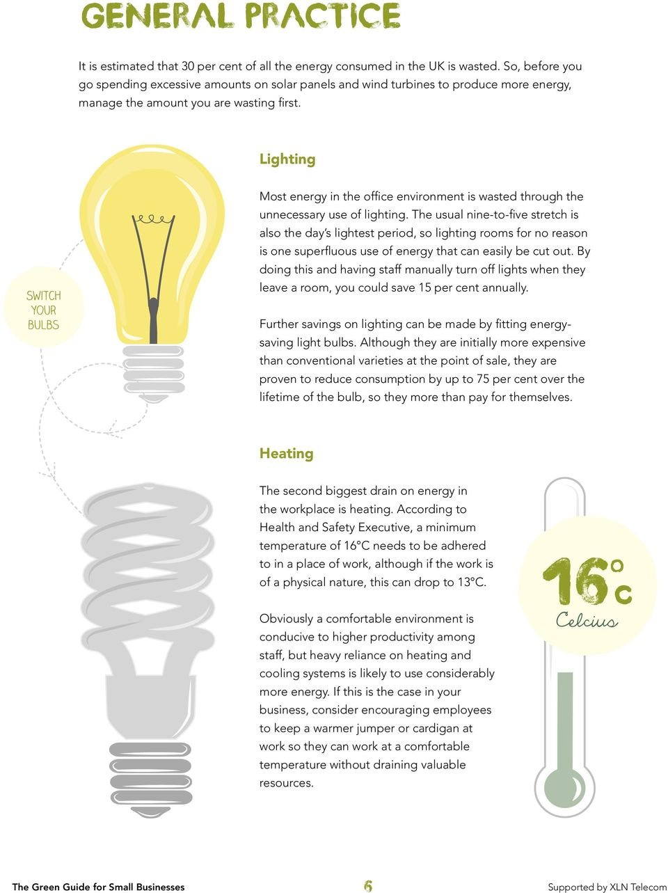 Lighting fit Switch energy saving yourbulbs bulbs Most energy in the office environment is wasted through the unnecessary use of lighting.