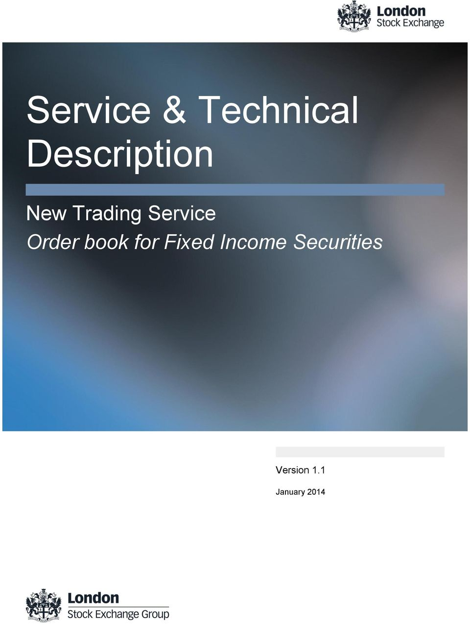 Service Order book for Fixed