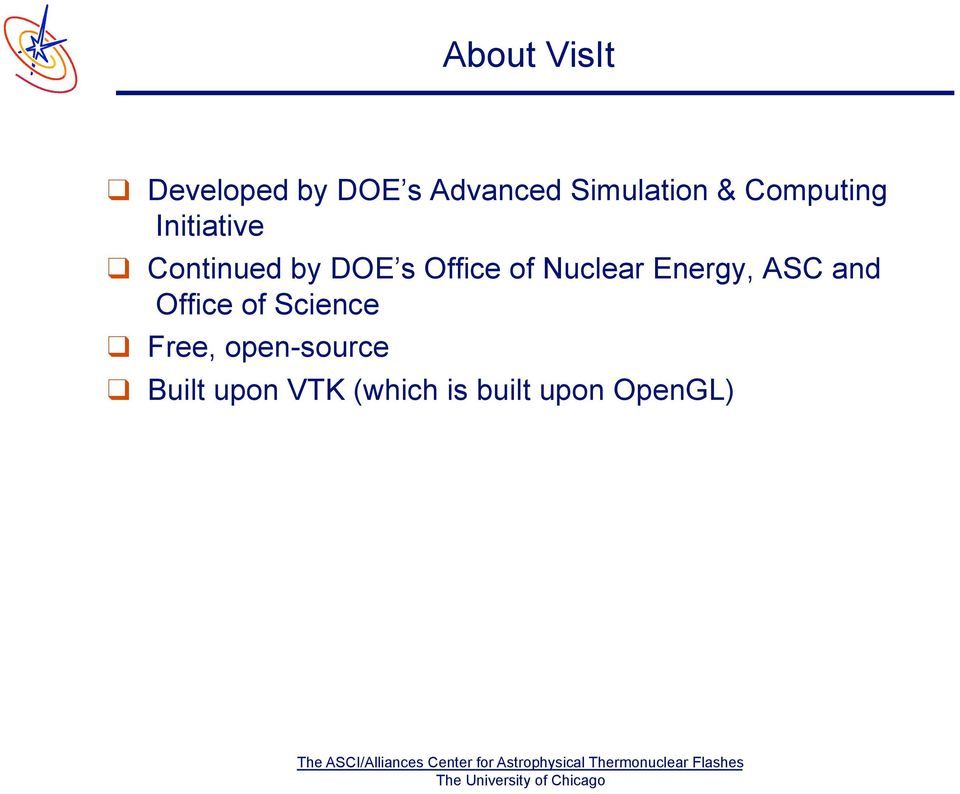 Nuclear Energy, ASC and Office of Science Free,