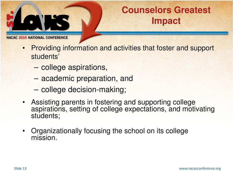 parents in fostering and supporting college aspirations, setting of college expectations,