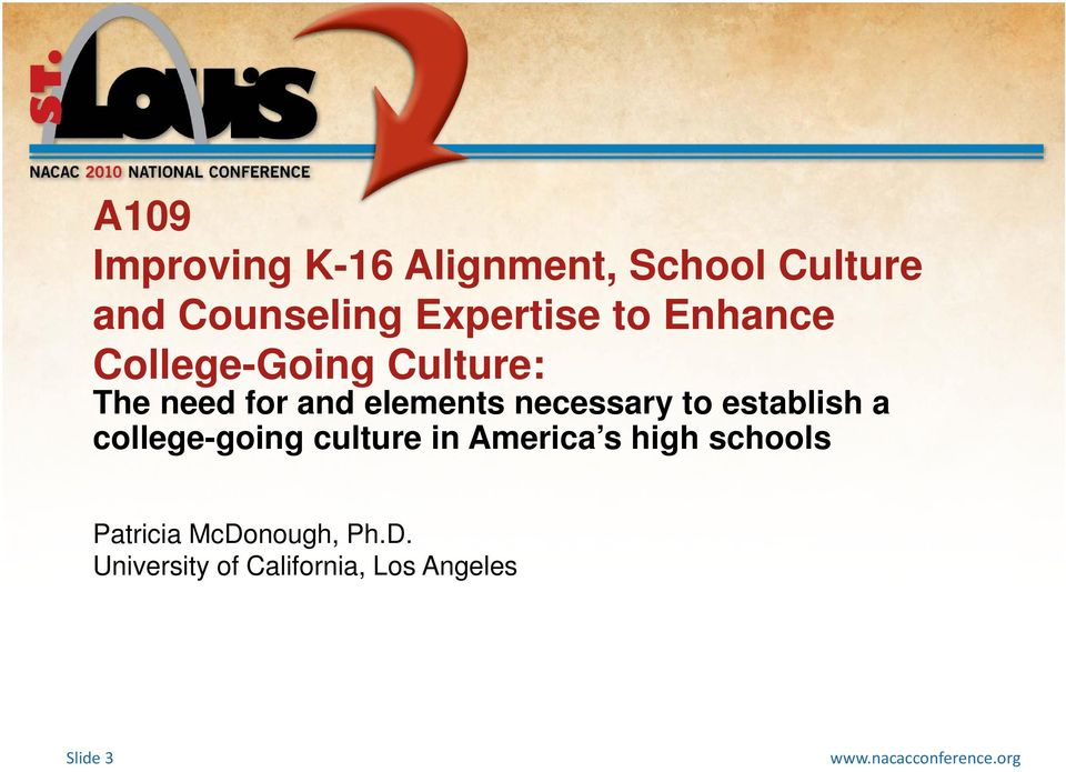 elements necessary to establish a college-going culture in America s