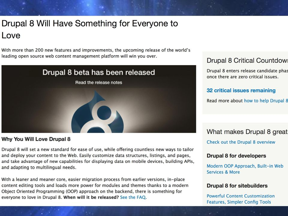 Managing Projects Using Drupal 8 s Configuration Management