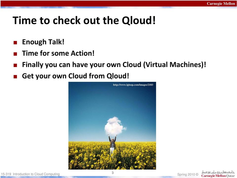 Finally you can have your own Cloud (Virtual