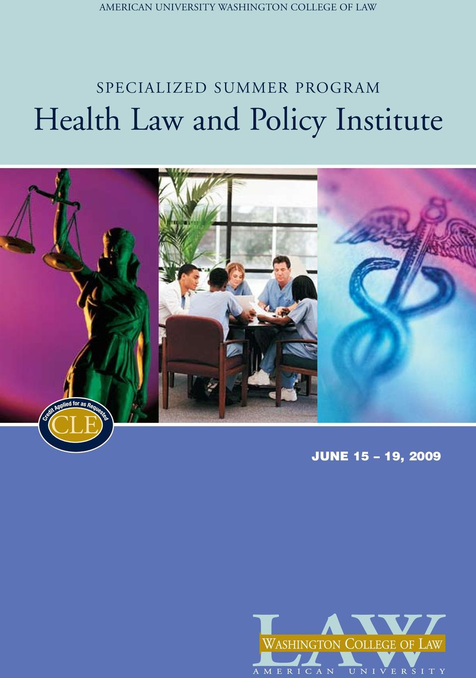 Summer Program Health Law and