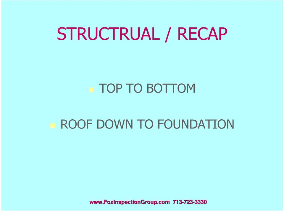 BOTTOM ROOF