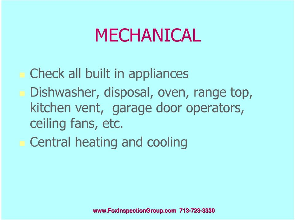 kitchen vent, garage door operators,