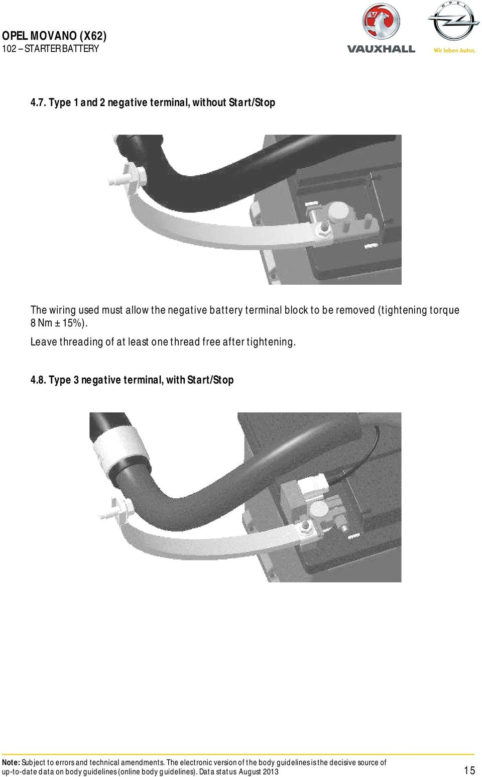 Conversion guideline opel movano x62 pdf battery terminal block to be removed tightening torque 8 nm asfbconference2016 Images