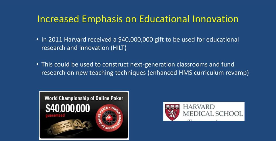 (HILT) This could be used to construct next-generation classrooms and