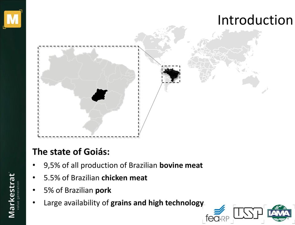 5% of Brazilian chicken meat 5% of Brazilian