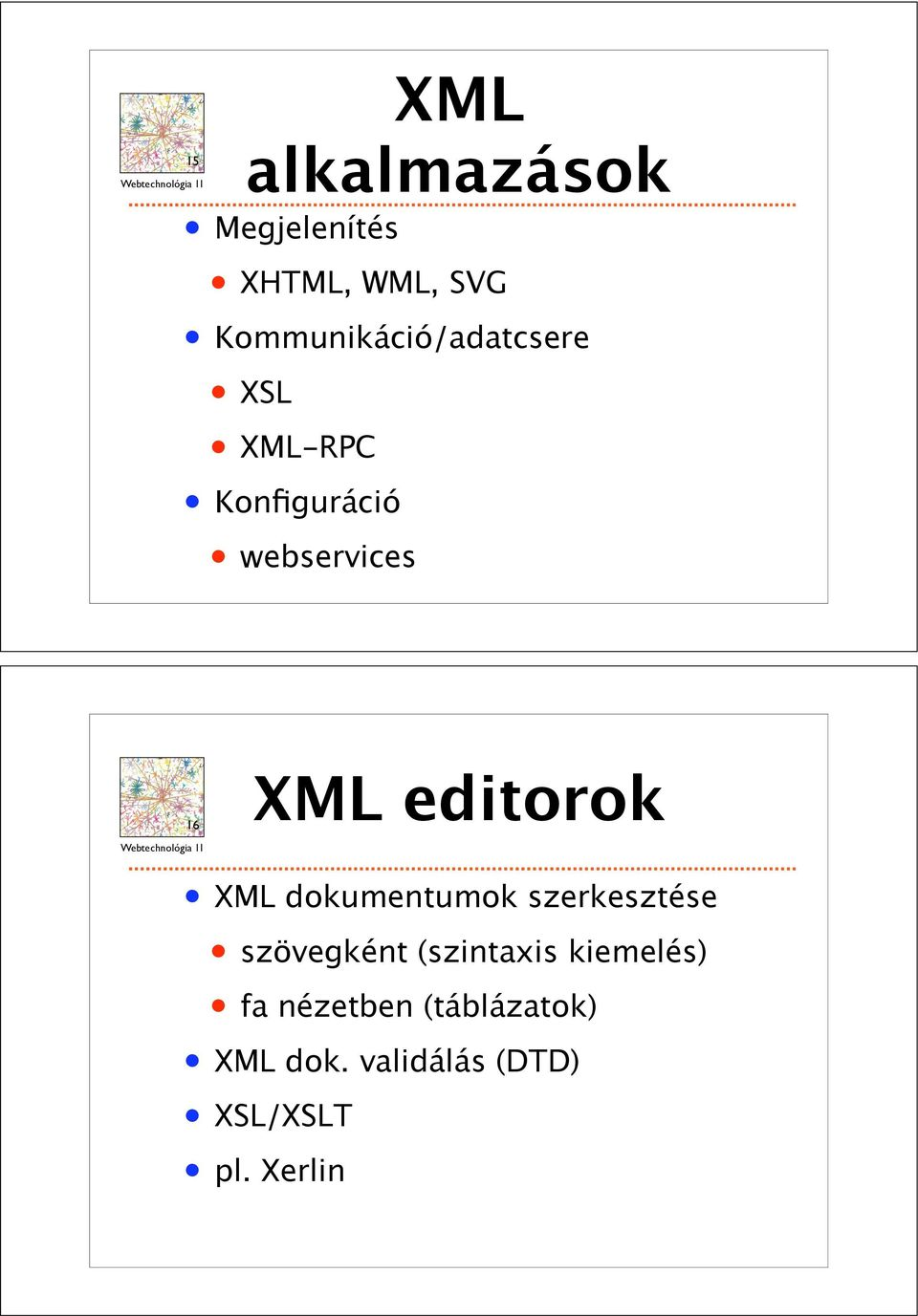 INTERNET,mapped on the opposite page, is a scalefree network in that 16 XML editorok XML