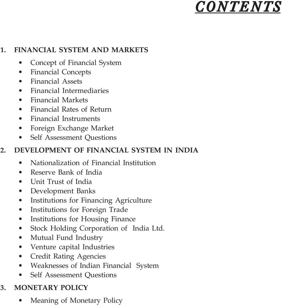Financial Instruments Foreign Exchange Market 2.
