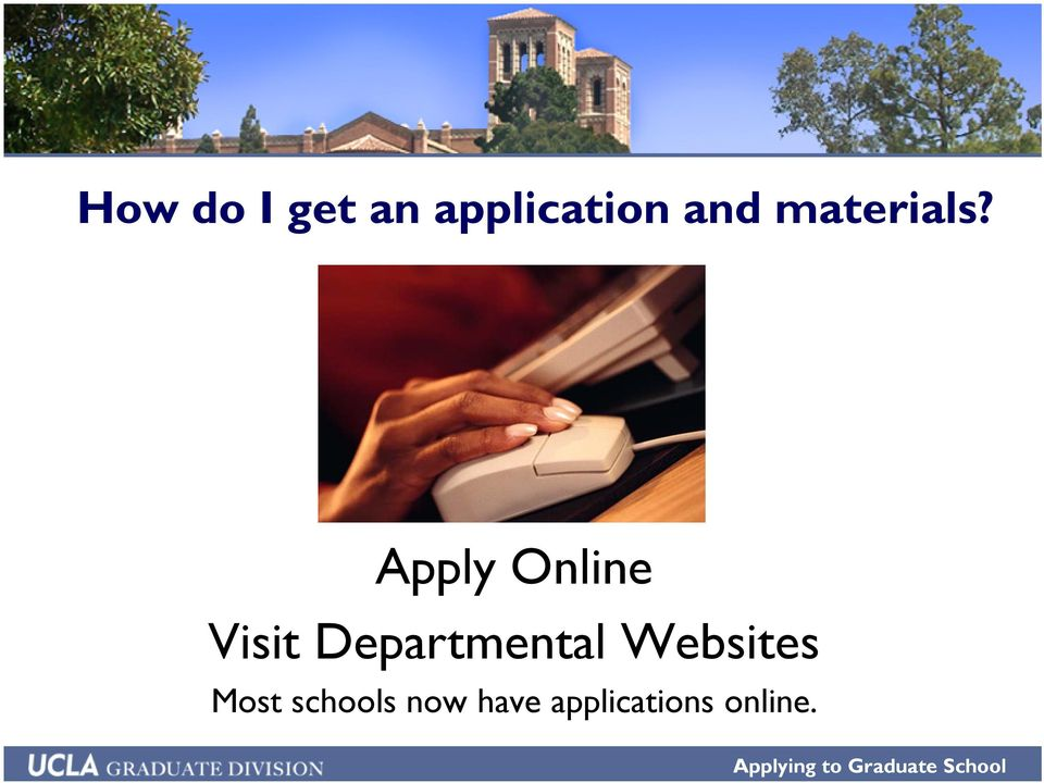 Apply Online Visit Departmental