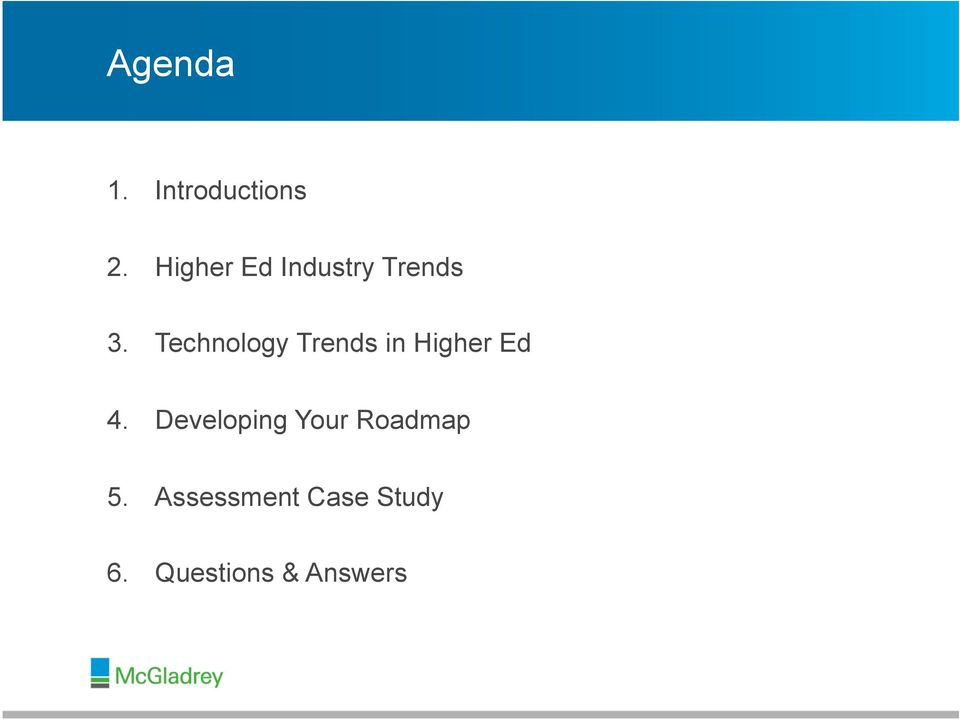 Technology Trends in Higher Ed 4.