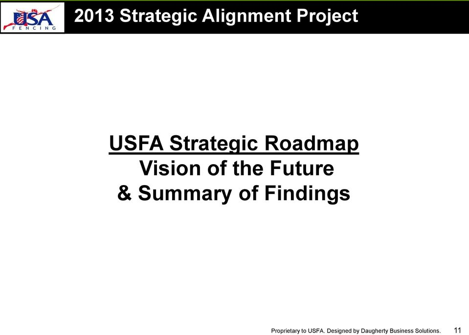 Roadmap Vision of the