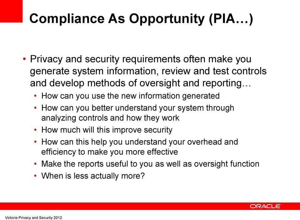 your system through analyzing controls and how they work How much will this improve security How can this help you understand your