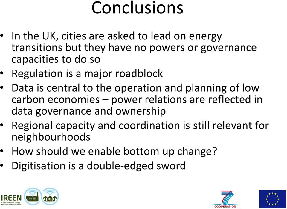 carbon economies power relations are reflected in data governance and ownership Regional capacity and