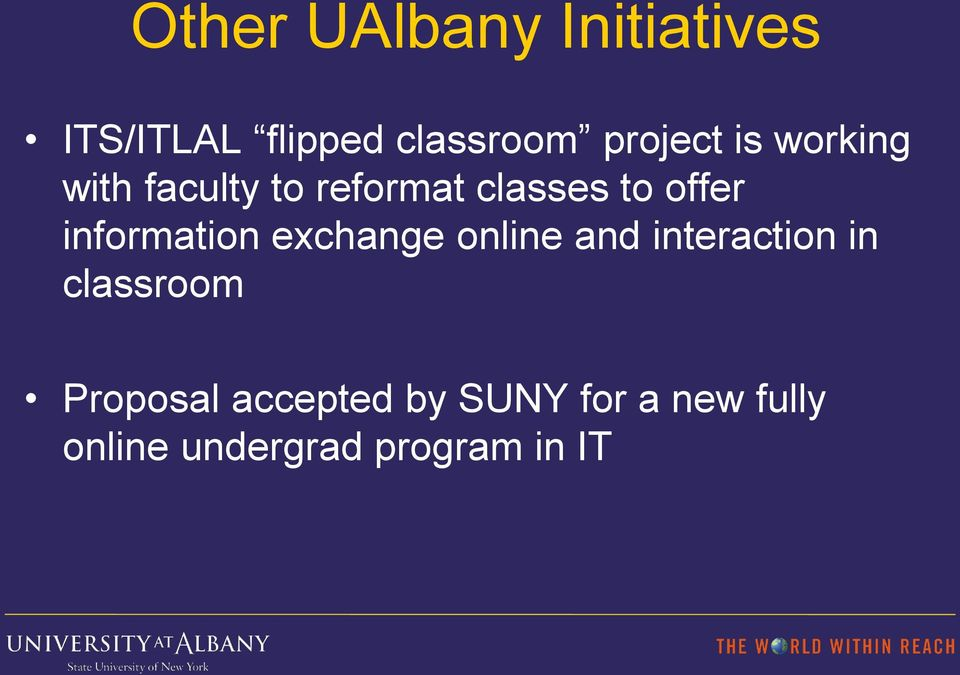 information exchange online and interaction in classroom