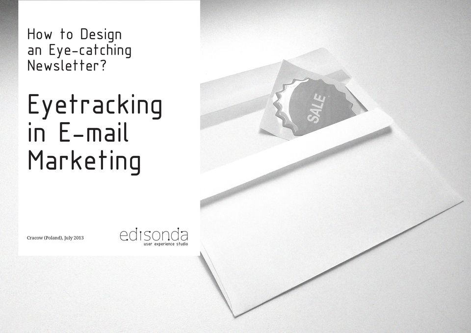 Eyetracking in E-mail