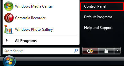 *If you don't see Network menu item please do the following: Click