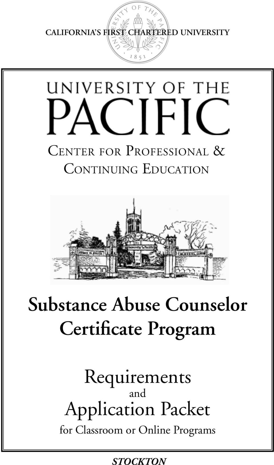 Abuse Counselor Certificate Program Requirements and