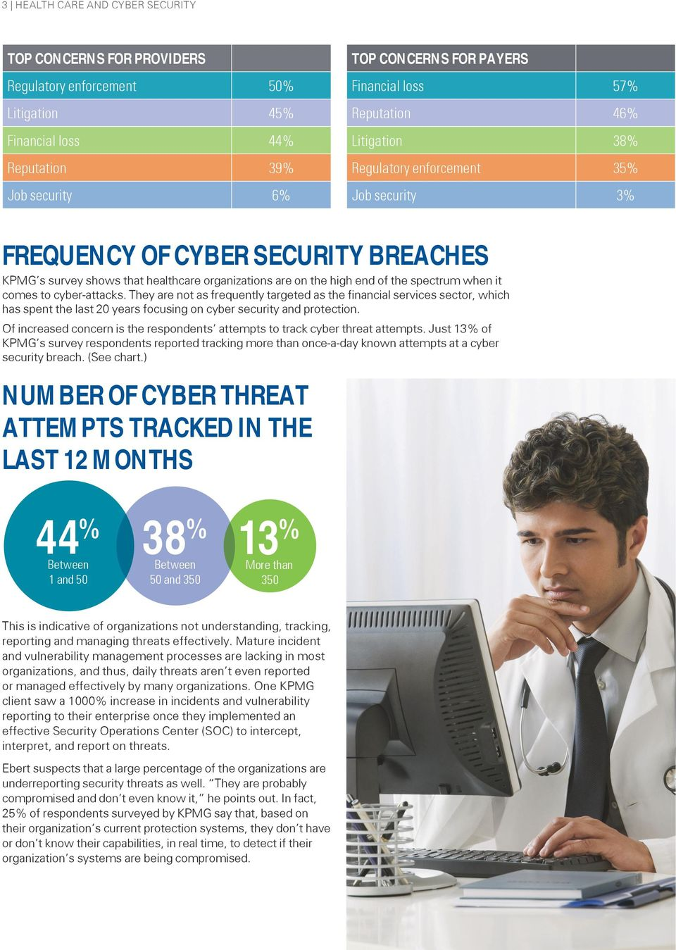 when it comes to cyber-attacks. They are not as frequently targeted as the financial services sector, which has spent the last 20 years focusing on cyber security and protection.