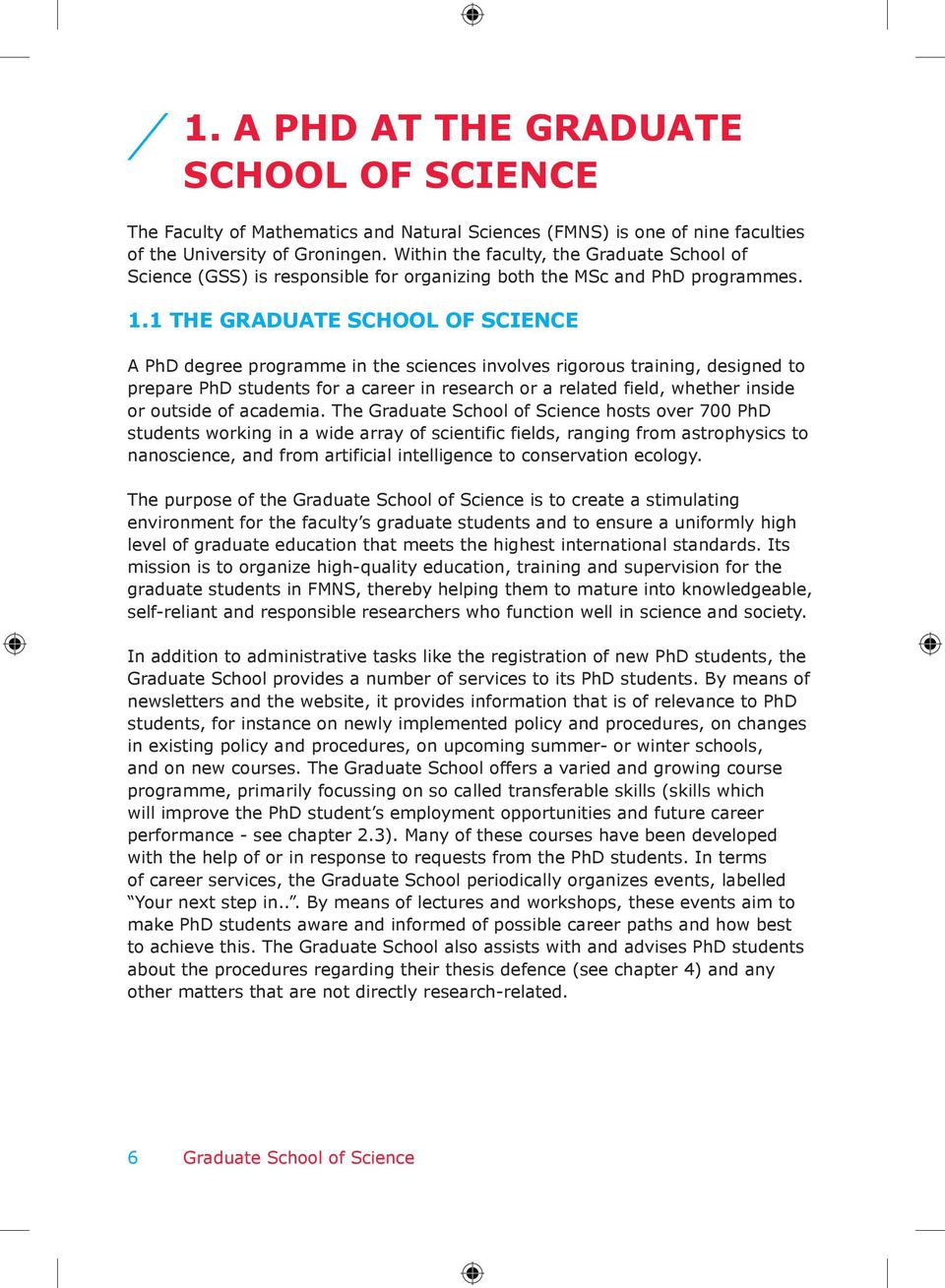 PhD Guide Graduate School of Science - PDF