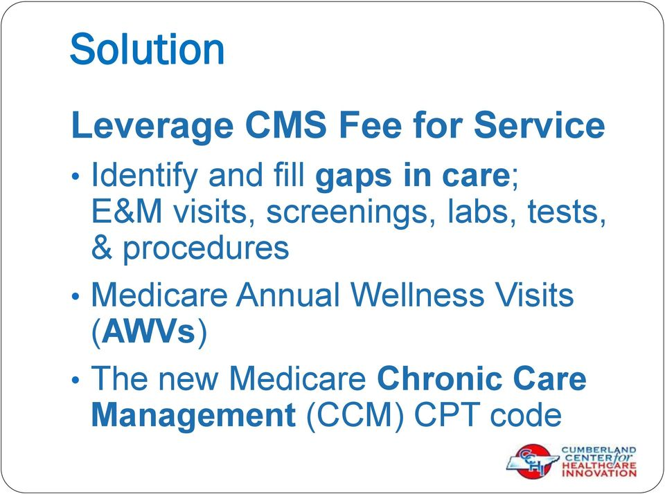 tests, & procedures Medicare Annual Wellness Visits