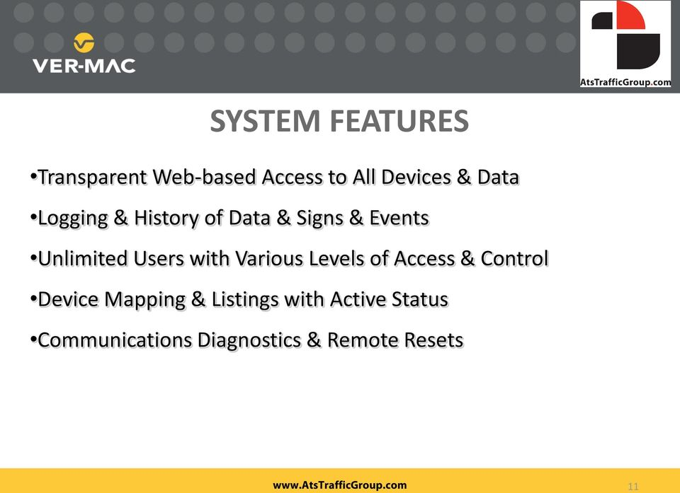 with Various Levels of Access & Control Device Mapping &