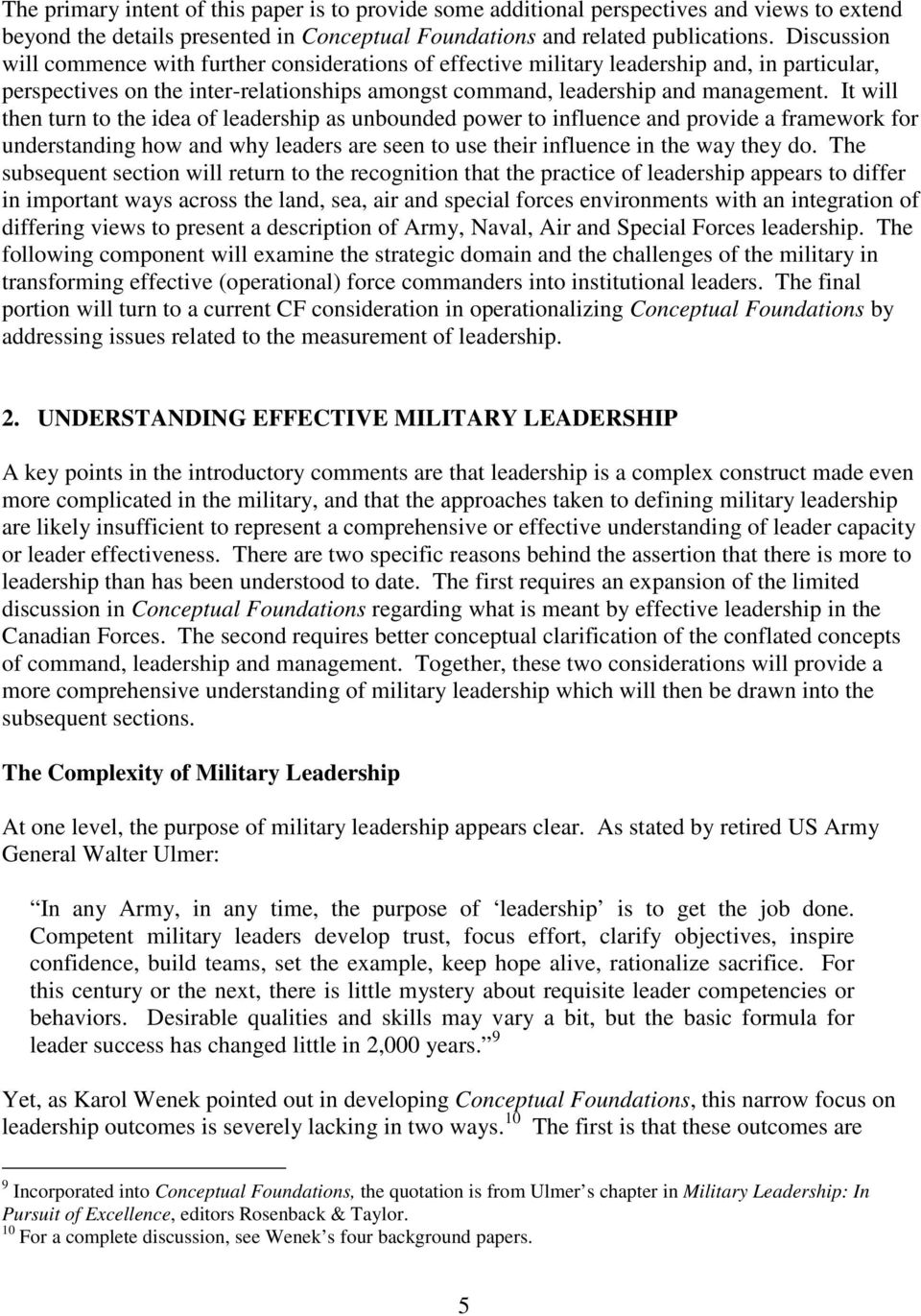Canadian Forces Leadership Institute Canadian Defence Academy