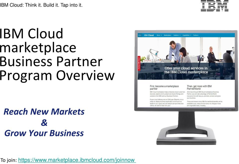 Overview Reach New Markets & Grow Your Business