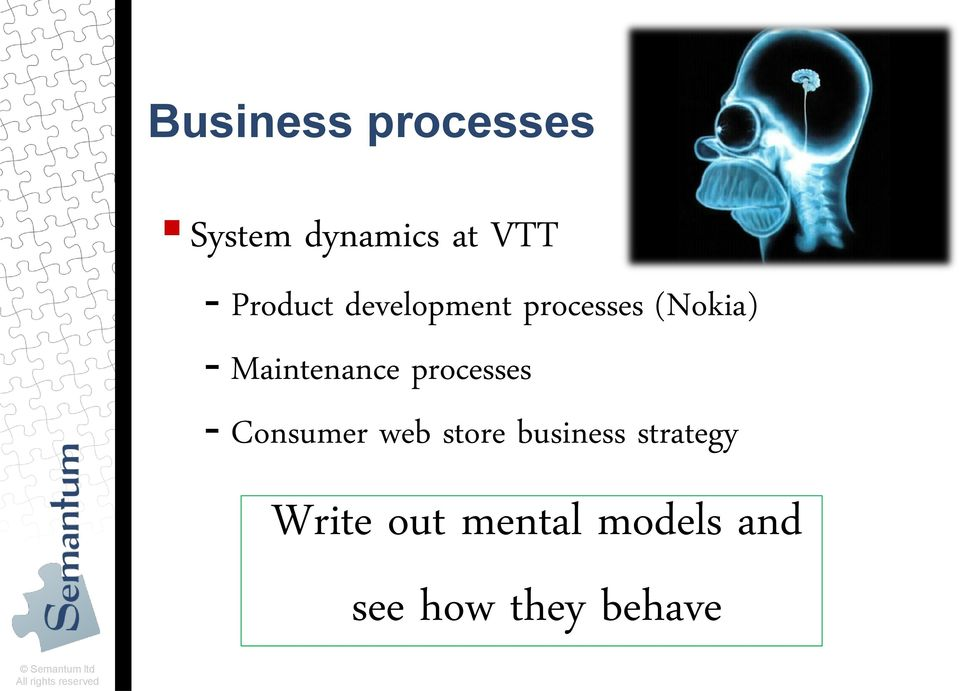 - Consumer web store business strategy Write out