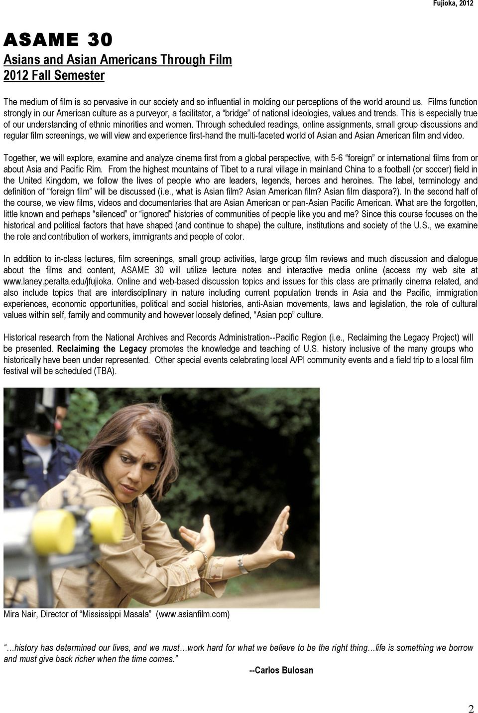 Asame 30 asians and asian americans through film 2012 fall semester this is especially true of our understanding of ethnic minorities and women fandeluxe Gallery