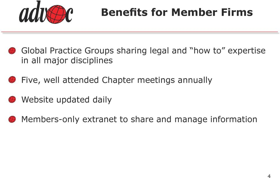 well attended Chapter meetings annually Website updated