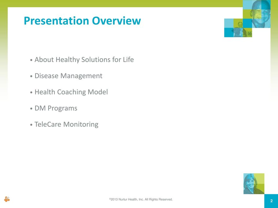 Health Coaching Model DM Programs TeleCare