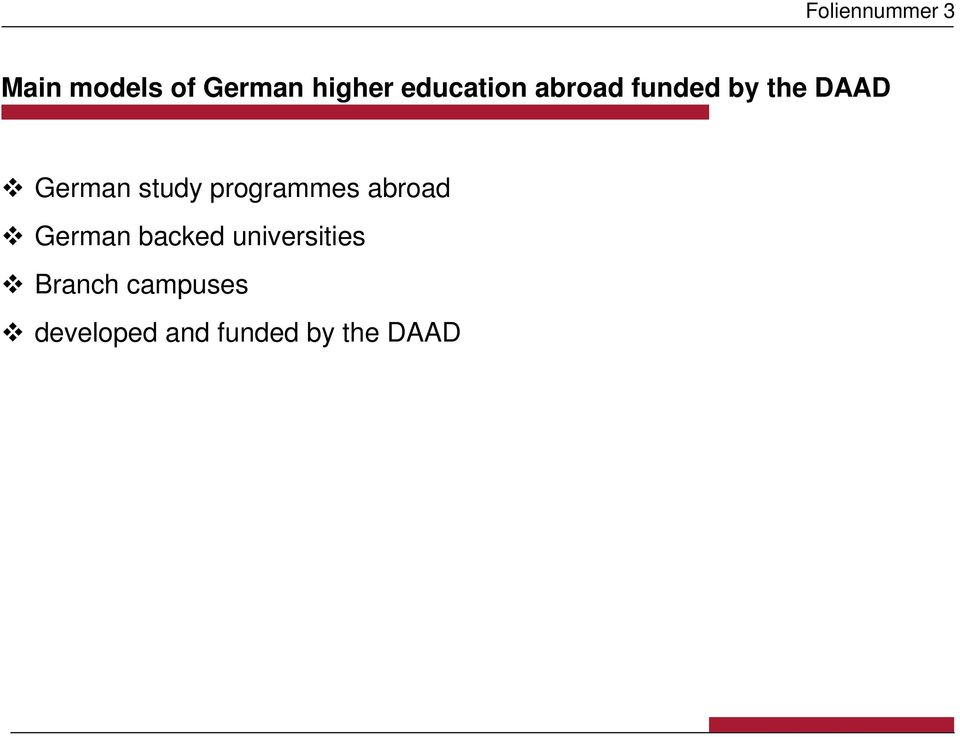 study programmes abroad German backed