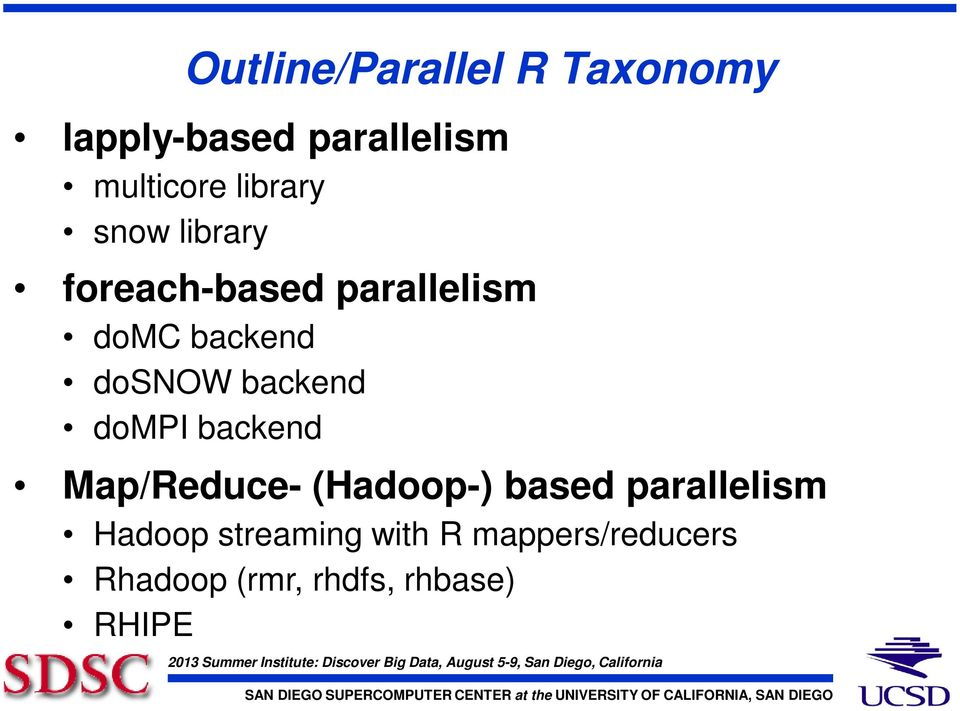 backend dompi backend Map/Reduce- (Hadoop-) based parallelism