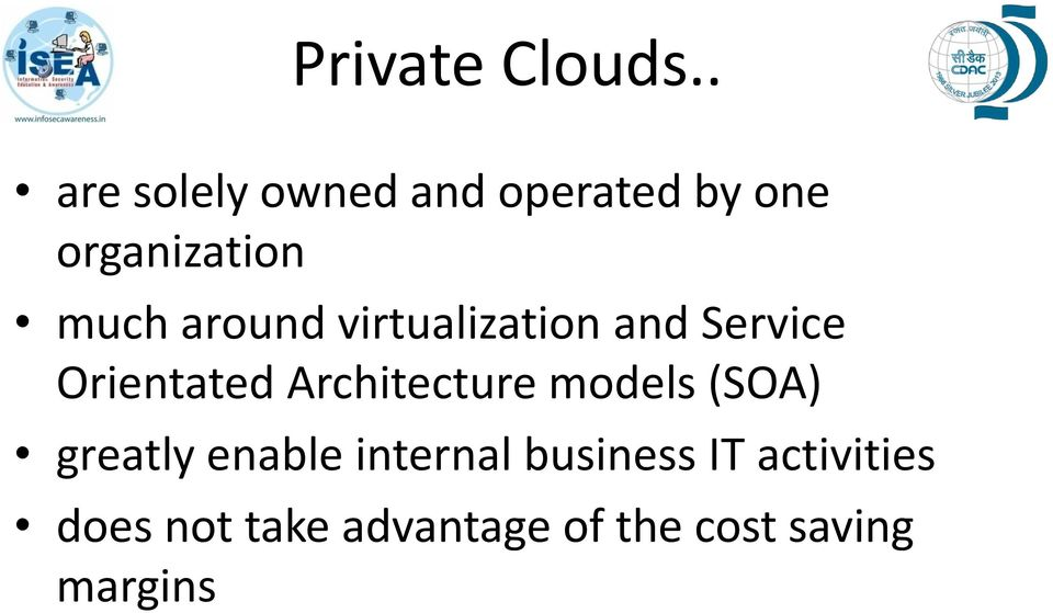 around virtualization and Service Orientated Architecture