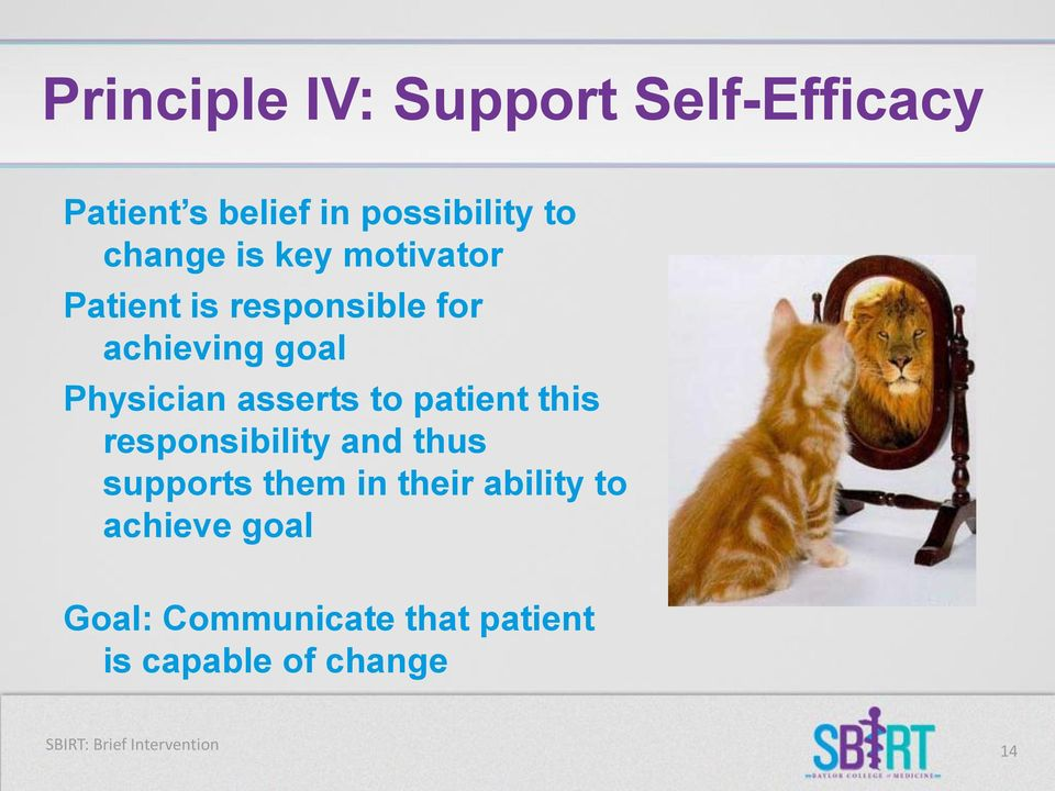 patient this responsibility and thus supports them in their ability to achieve