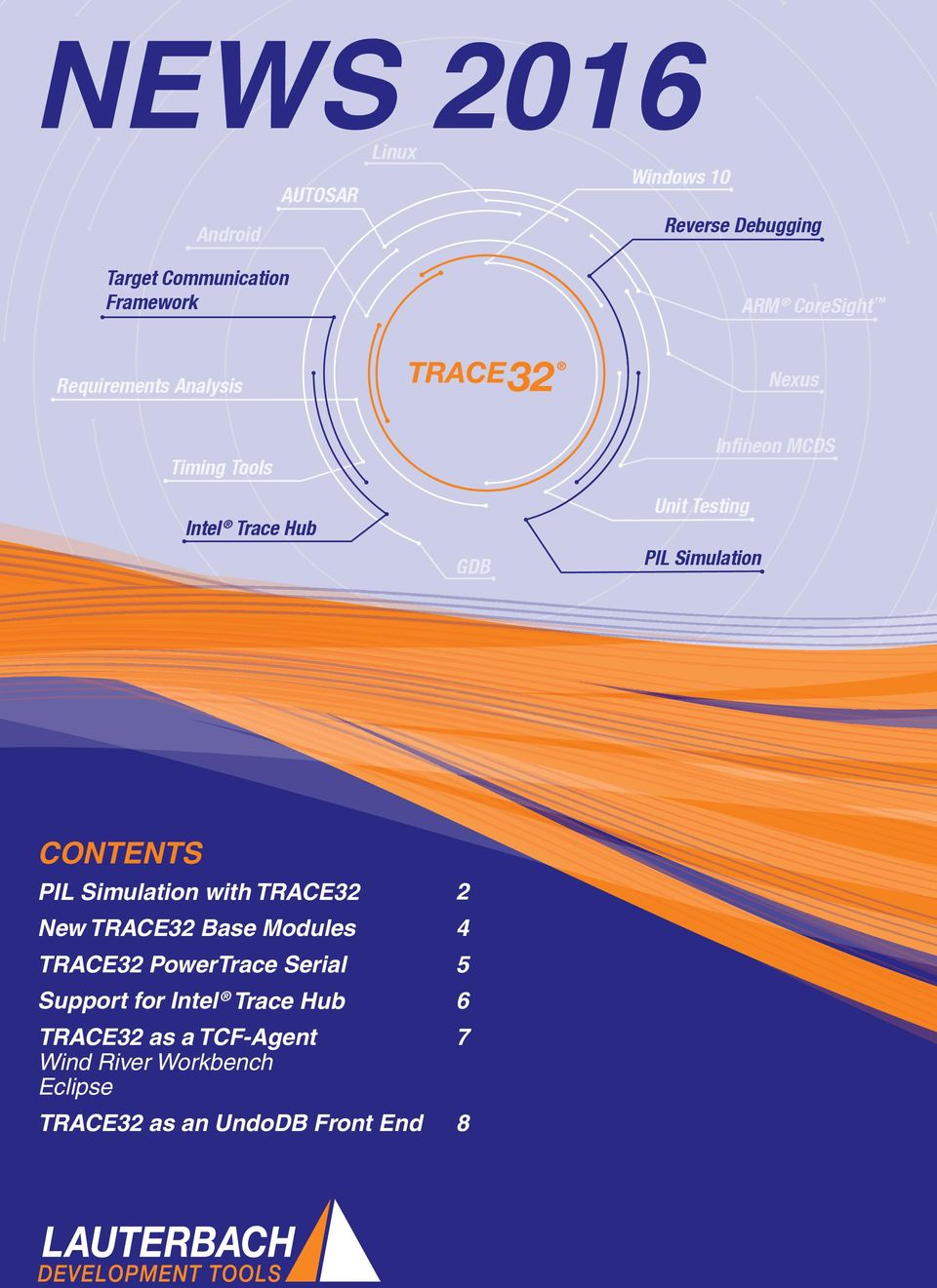 CONTENTS PIL Simulation with TRACE32 New TRACE32 Base Modules TRACE32 PowerTrace Serial Support for