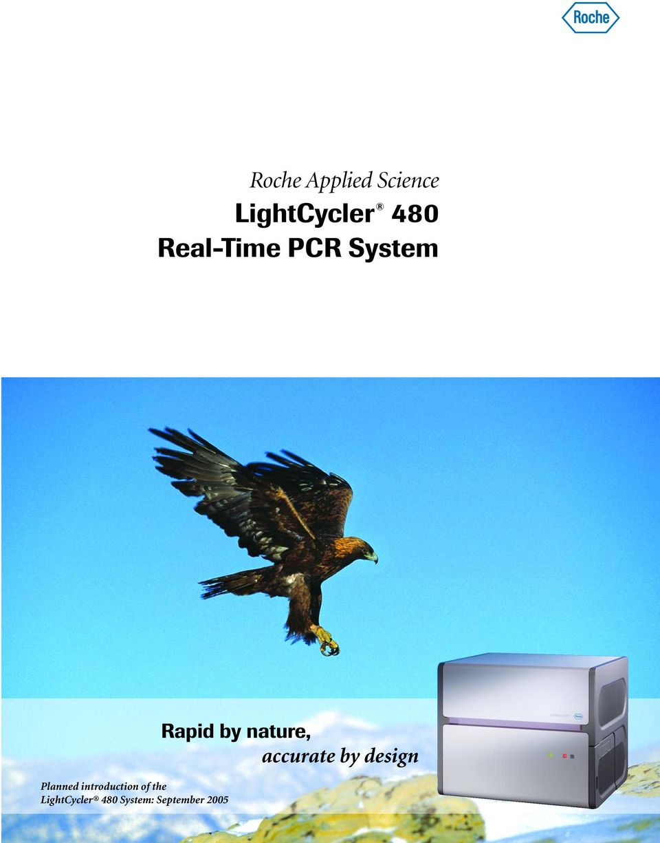 introduction of the LightCycler 480