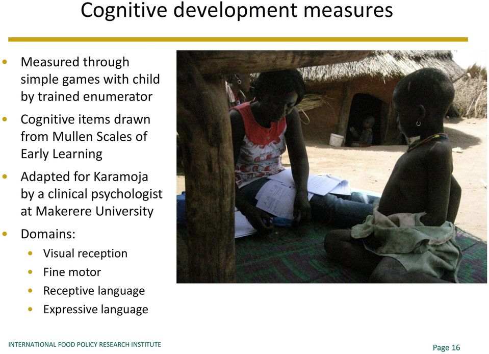 Learning Adapted for Karamoja by a clinical psychologist at Makerere