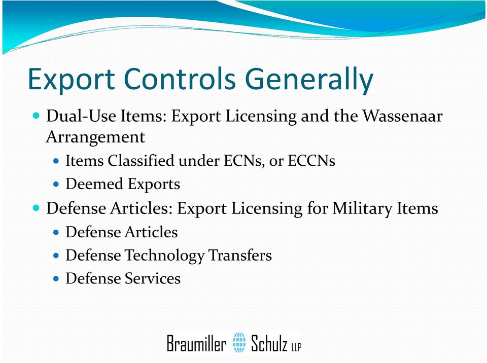 Deemed Exports Defense Articles: Export Licensing for Military