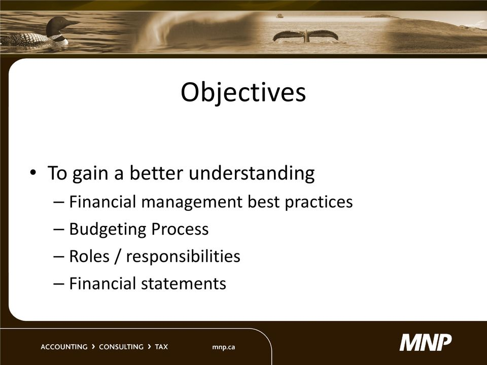 best practices Budgeting Process