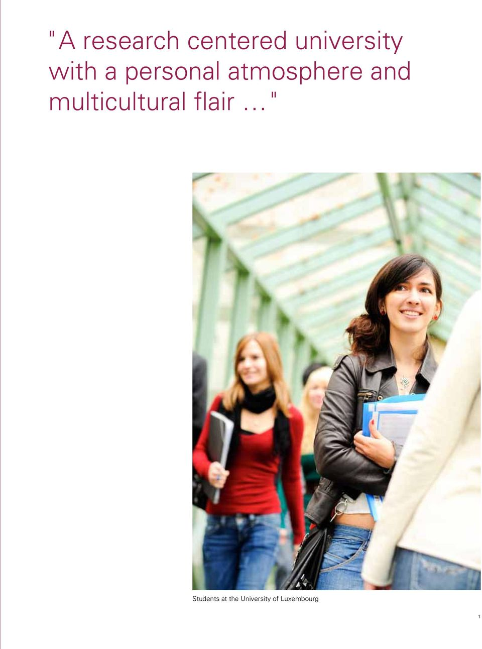"multicultural flair "" Students"