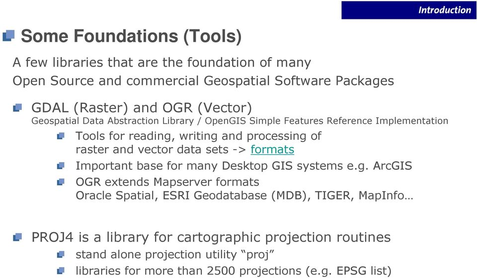 Open Source Tools for Spatial Analysis and Geoprocessing - PDF
