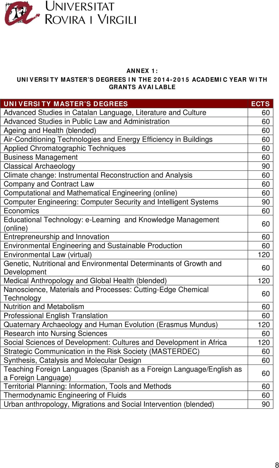 Management 60 Classical Archaeology 90 Climate change: Instrumental Reconstruction and Analysis 60 Company and Contract Law 60 Computational and Mathematical Engineering (online) 60 Computer