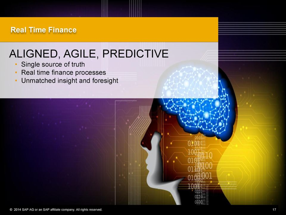 processes Unmatched insight and foresight 2014